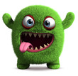 cute furry monster - 42197066