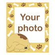 Photo frame for baby or pet