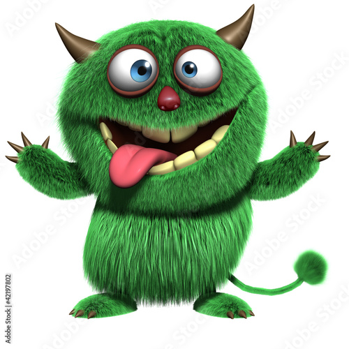 cute furry alien - 42197802