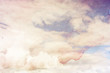 Grungy background with clouds
