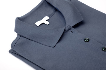 Gray polo shirt