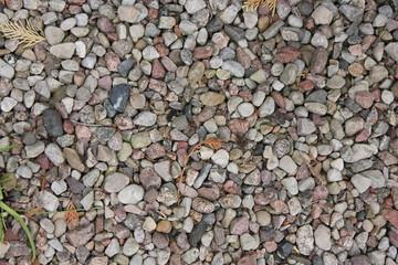 Little stones background texture