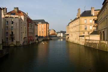 Cityscape of Metz