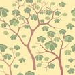 Постер, плакат: бесшовный фон из растительных мотивов в китайском стиле обои