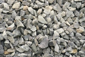 Granite stones used in construction