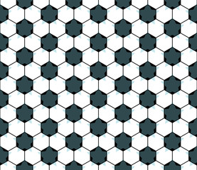 Seamless football star pattern. EPS 8