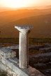 Sunset On Ruins Of Ancient Byllis, Albania