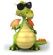 Detaily fotografie Cool dragon