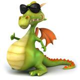 Fototapety Cool dragon