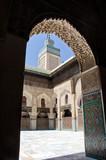 Madrasa in Fez, Morocco poster