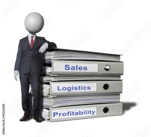 Logistics Headman concept