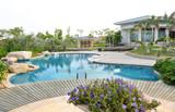 Fototapety luxury pool