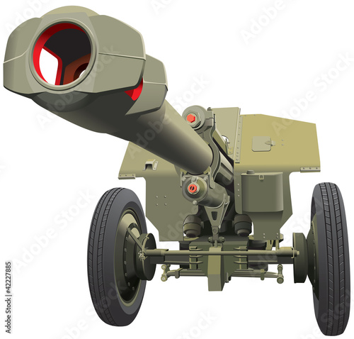 Papiers peints Militaire large old gun