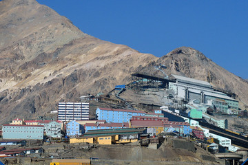 Kupfermine El Teniente Chile