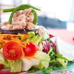 Salat mit Tunfisch