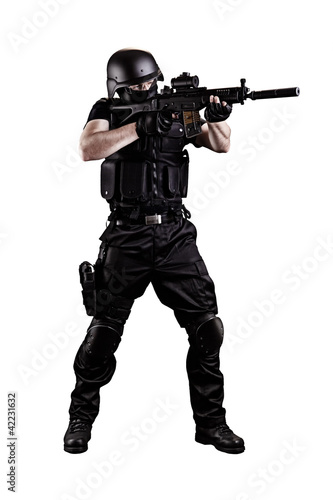 SWAT MAN