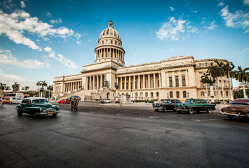 Havana, Cuba - on June, 7th. capital building of Cuba, 7th 2011.
