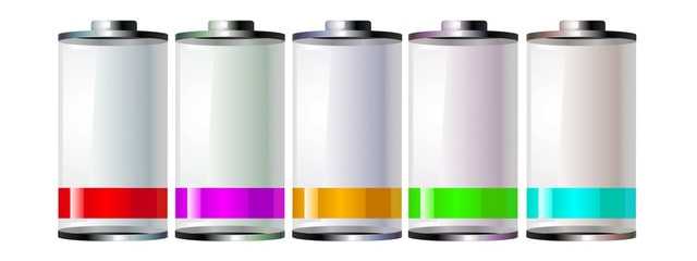 Piles de couleur