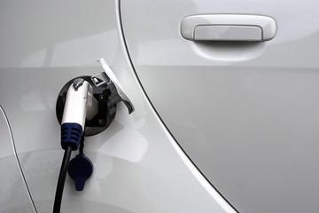 Fuelling an electrical car, power plug