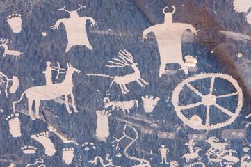 Indian petroglyph