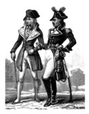 2 Men - French Revolution end18th century - 1859