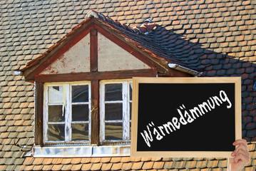 Wärmedämmung - Altes Haus
