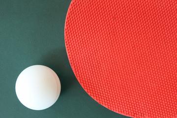 Tischtennis abstrakt