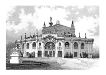 Vienna Austria : Theatre - 19th century