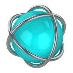 design logo turquoise