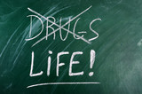 say no to drugs,choice life poster
