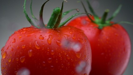 Fresh tomatoes, Slow Motion