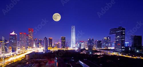 Foto op Aluminium Peking central business of district in beijing