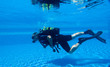 Leinwandbild Motiv Scuba Diving