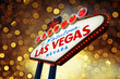 welcome to Fabulous Las Vegas Sign with beautiful background