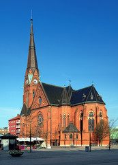Gustav Adolf Church in Helsingborg, Sweden