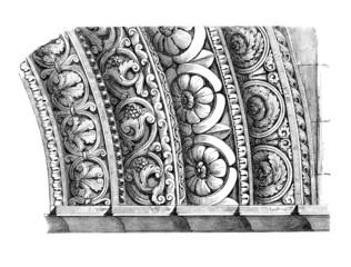 Architectural Ornaments - 12th century