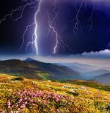 Fototapeta piękny - rygiel - Burza / Burza z piorunami