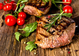 Fototapety Grilled beef steak