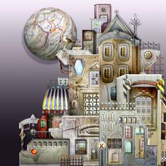 City labyrinth