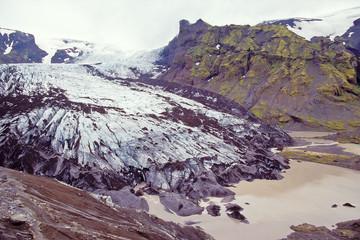 Steinholtsjokull glacier, Iceland