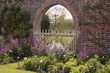 English Garden Border & Old Brick Arch