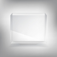 Transparent showcase  box