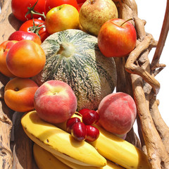 Diversité de fruits