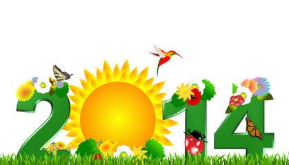2014, the sun garden