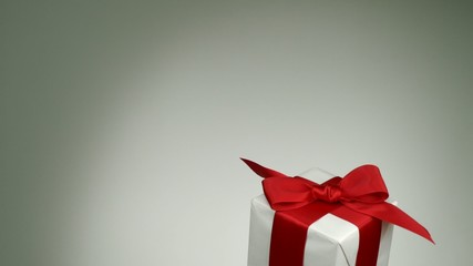 Gift boxes falling, Slow Motion