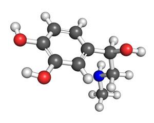 Adrenaline molecule
