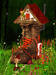 Boot fantasy house