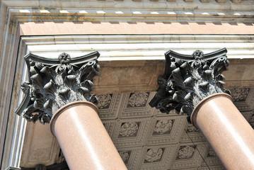 Bronze Pilasters
