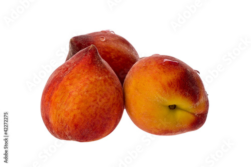Three Peaches (Prunus persica)