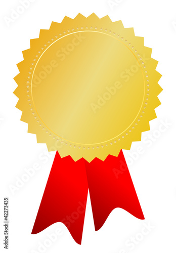 Vector award medal illustration
